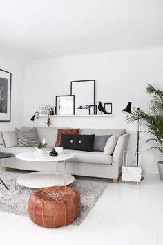 This gray watercolor stain is great for a statement look, but its neutral enough to add to any room. 130 Gorgeous Living Room Design Ideas In Eclectic Style. Scandinavian home design ideas Eames House, Minimalist Living Room, House Interior, Ikea Picture Shelves, Living Room Designs, Living Decor, Interior, Room Design, Home Living Room