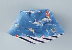 best baby sun hats: classic bucket hat at Boden