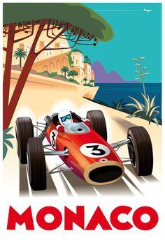 Monaco Travel posters, art deco - Google Search