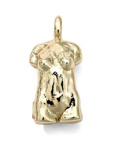 18k Yellow Gold Statue Charm - Ippolita