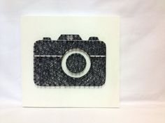 String Art Digital SLR Camera DSLR Wall Art Home Decor by OneRoots