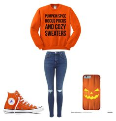 """""""#21"""" by anna2167 ❤ liked on Polyvore featuring moda, Converse ve Fall"""
