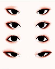 Глаза рисунок