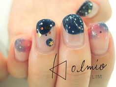 LIMさん Pretty Nail Art, Beautiful Nail Art, Love Nails, My Nails, Essie, Korean Nail Art, Happy Nails, Nail Time, Garra