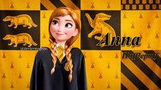Merida, Jack Frost, Rapunzel, Disney Hogwarts, Elsa, Harry Potter Fan Art, Anna Frozen, The Big Four, Disney And Dreamworks