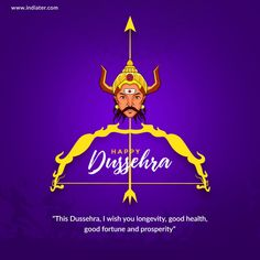 """""""Let's celebrate the victory of the forces of Good over Evil. Wishing you a very joyous Happy Dussehra!"""" From team Safety Drive IndiaCorp Pvt. Festivals Of India, Indian Festivals, Happy Dusshera, Are You Happy, Stay Happy, Boarding Schools In India, Free Flyer Templates, Effigy, Circle Of Life"""