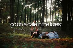 TBH kinda hard not to have a date in the forest, living in Washington.