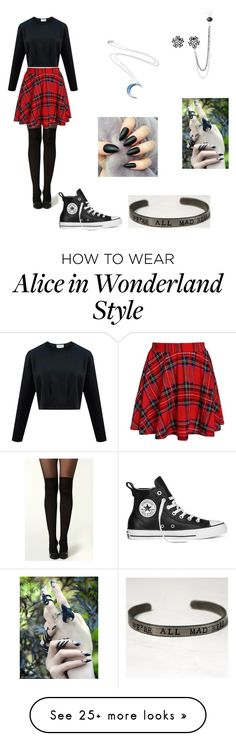 """Untitled #146"" by ifunicornscouldfly on Polyvore featuring Converse"