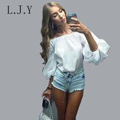Vestidos Summer Style Women Long Sleeve Blouse Shirts Vintage lantern sleeve Cotton Pink White Shirts femme Tops blusa feminina