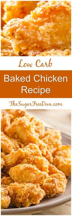 Keto Baked Chicken Recipe-- this looks so delicious and it's low carb!!