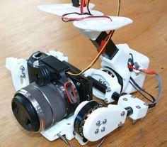 3D-Printed DSLR Camera Gimbal