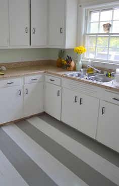 find this pin and more on house ideas painted kitchen floor - Painted Kitchen Floor Ideas