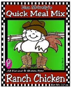 Ranch Chicken Quick Meal Mix