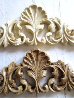 Shabby Chic Victorian Carved Crest Furniture by diychicgirl