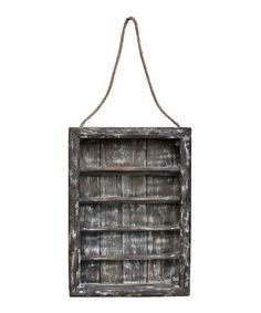 Another great find on #zulily! Barn Wood Five-Shelf Display Rack #zulilyfinds