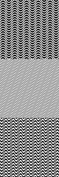Monochrome wavy line pattern background collection (EPS + JPG)