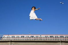 """Photography by Li Wei using """"mirrors, camera lenses, steel wires and old school acrobatics."""""""