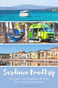 Sardinien Roadtrip - Reisetipps, Campingplätze, Strände und Restaurant-Empfehlungen Best Travel Guides, Reisen In Europa, Roadtrip, Vw Bus, Italy Travel, Marina Bay Sands, Travel Inspiration, Paradise, Hiking