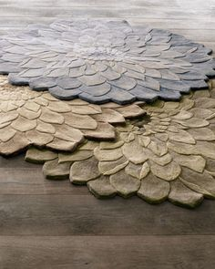 Zinnia Floral Rug at Horchow.