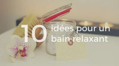 Bain relaxant à la maison Place Card Holders, Cards, Relaxing Bath, Spa Bathrooms, Tips And Tricks, Shower, Home, Maps, Playing Cards