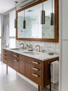 50+ Contemporary Dark Wood Bathroom Vanity Ideas http://homekemiri.com/50-contemporary-dark-wood-bathroom-vanity-ideas/