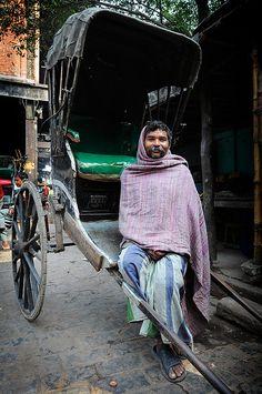 Rickshaw Man , India