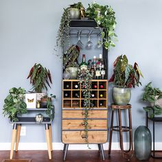 living room ideas – New Ideas Dining Room Design, Interior Design Living Room, Interior Decorating, Decorating Ideas, Wine Rack Cabinet, Wine Decor, Boho Kitchen, Green Rooms, Bar Furniture