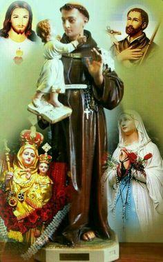 I Love You Mother, Mother Mary, Saint Anthony Of Padua, Holy Mary, Art Thou, Saints, Prayers, God, Anton