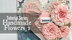 This is the first in a tutorial series of DIY handmade flowers. In this episode I'll show you how to create beautiful textured roses out of cardstock. I will...