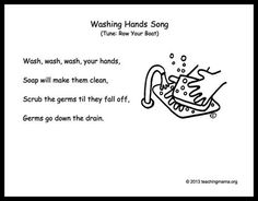 Handwashing Activities for Kids - Free Songs and Lessons