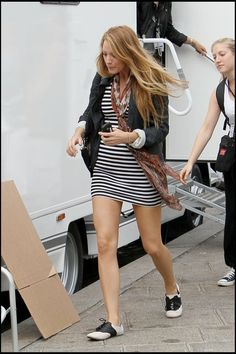 See more. Blake Lively wears Saddle Shoes. Saddle Shoes Outfit 9f578b6d68817