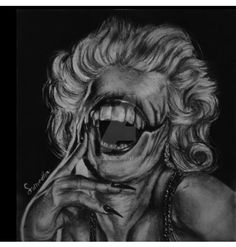 marylin monroe more like marilyn mon-eater by puchkiluii on DeviantArt Art Painting, Sculptures, Drawings, Painting, Eater, Deviantart, Art, Fan Art, Marilyn Monroe Art