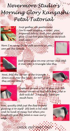 deviantART: More Like Tutorial: Homemade Stamens for Kanzashi by ~EruwaedhielElleth