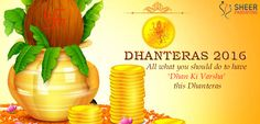 Know all that you should do to get abundance of health & wealth on the occasion of Dhanteras. Read How can you have Dhan ki Varsha this Dhanteras!