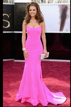 Todas las imágenes de celebrities y alfombra roja de los Oscars 2013: Maria Menounos de Romona Keveza