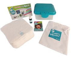 Cheeky Wipes - Baby Wipes Mini Kit (for cloth nappy users), $49.00 (http://www.cheekywipes.com.au/baby-wipes-mini-kit/)