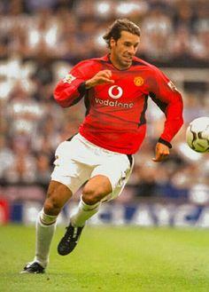 Ruud van Nistelrooy of Man Utd in 2002.