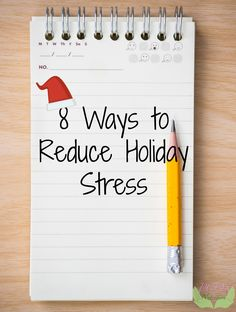 8 Ways to Reduce Holiday Stress - PCOS and Nutrition