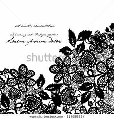 stock vector : Lace background