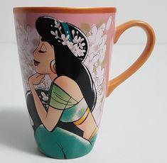 JASMINE Aladdin Coffee Mug Disney Store Princess NEW Peach and Pink 465512473955 | eBay
