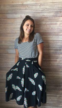 LuLaRoe Madison Skirt with pockets!! Facebook.com/groups/francescatovar
