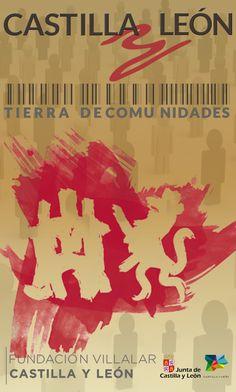 """Exposición """"Castilla y León, Tierra de Comunidades"""". Organiza: FUNDACIÓN VILLALAR - CASTILLA Y LEÓN. Colabora: JUNTA DE CASTILLA Y LEÓN / MUSEOS DE CASTILLA Y LEÓN. Produce : SERCAM, SERVICIOS CULTURALES Y AMBIENTALES, SOC. COOP. Villa, Movies, Movie Posters, Art, Community, Earth, Museums, Tourism, Art Background"""
