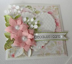 Get well soon Card Idea - Essential products for this project can be found on Crafting.co.uk - for all your crafting needs.