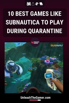 Subnautica is a testament to how good an open-world survival-adventure game can be if it is developed properly. If you want to see more games like this, here you have our favorite games like Subnautica. More Games, Best Games, Hello Games, Minecraft S, The Long Dark, Space Engineers, Alien Worlds, Adventure Game, Mixed Feelings
