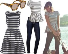 Karen Walker 'Number Two' sunnies, Wyatt top, 7 For All Mankind jeans & Dorothy Perkins dress