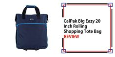 CalPak Big Eazy 20 Inch Rolling Shopping Tote Bag Review Metal Detector Reviews, Best Carry On Luggage, Travel Items, Purses For Sale, Love To Shop, Shopping Spree, Strollers, Tote Bag