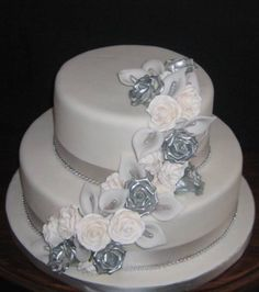 lavender and silver anniversary cakes | Cakes Ever After - Our Cakes
