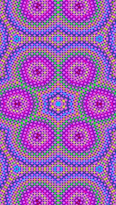 Psychedelic Rangoli Designs, Psychedelic Art, Mandala Design, Sacred Geometry, Iphone Wallpaper, Bubbles, Graphic Design, Cool Stuff, Wallpapers
