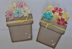 Blumentopfkarte - stempeldichbunt