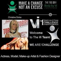 Another celebrity promoting body by vi  http://www.workwithtodd.info  Please like, share and repin :)